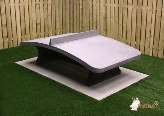 Table de Footvolley en béton anthracite
